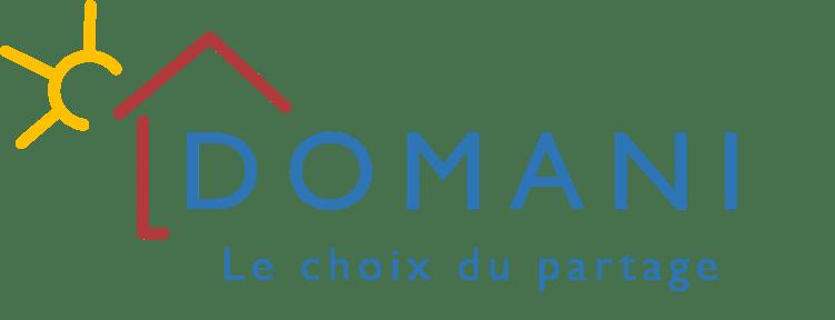 Logo Domani Maisons Seniors Partagées Le Choix du Partage